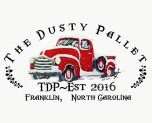 logo_dusty_pallet_franklin_north_carolina